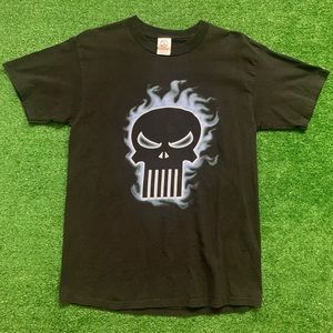 Vintage Early 2000's Marvel Punisher Shirt